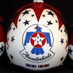 Thunderbirds Flight Helmet